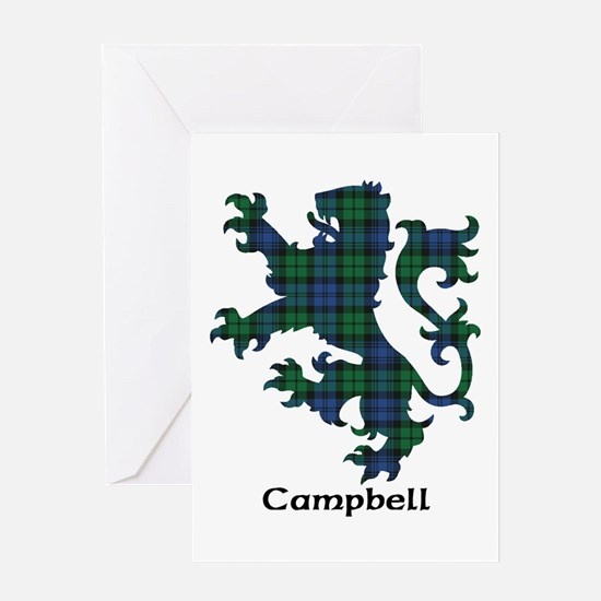 Lion - Campbell Greeting Card