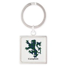 Lion - Campbell Square Keychain