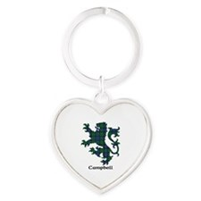 Lion - Campbell Heart Keychain