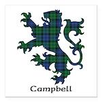 Lion - Campbell Square Car Magnet 3