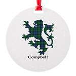 Lion - Campbell Round Ornament