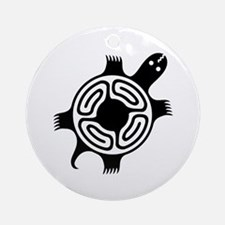 AbOriginalz Tribal Turtle Ornament (Round)