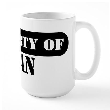 Property of Ryan Large Mug