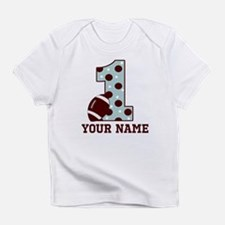 1st Birthday Football Infant T-Shirt
