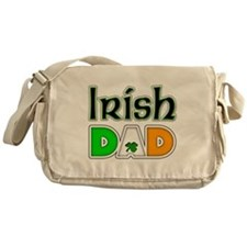 Irish Dad Messenger Bag