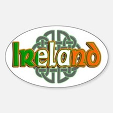 Ireland Sticker (Oval)