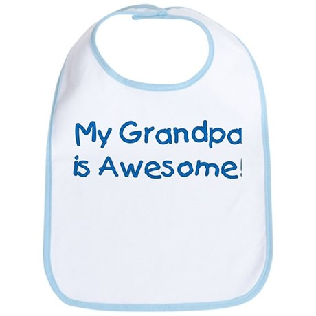My Grandpa is Awesome! Bib