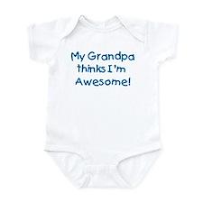 My Grandpa Thinks I'm Awesome! Onesie