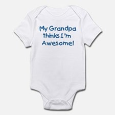 My Grandpa Thinks I'm Awesome! Onesie
