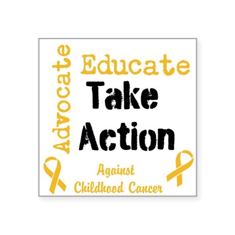 Take Action for the kids Sticker