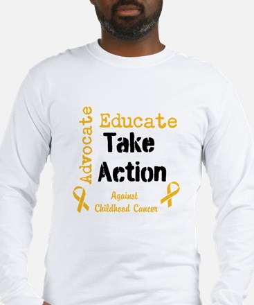 Take Action for the kids Long Sleeve T-Shirt
