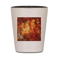 The Captive Robin by Fitzgerald Shot Glass
