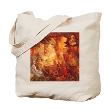 The Captive Robin by Fitzgerald Tote Bag