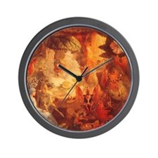 The Captive Robin by Fitzgerald Wall Clock
