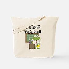 Frog Science Teacher Tote Bag