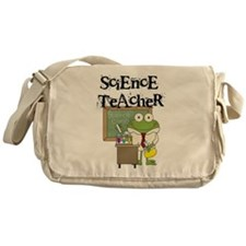 Frog Science Teacher Messenger Bag