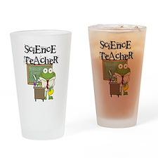 Frog Science Teacher Drinking Glass