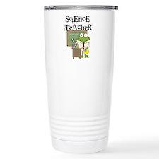 Frog Science Teacher Ceramic Travel Mug