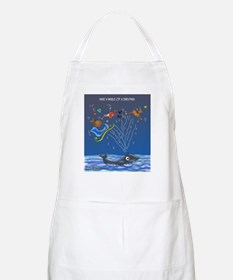 Have A Whale Of A Christmas Apron