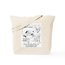 Reindeer Sees a Financial Planner Tote Bag