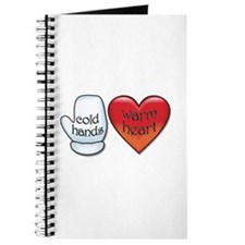 Funny Cold Hands Warm Heart Journal