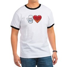Funny Cold Hands Warm Heart T