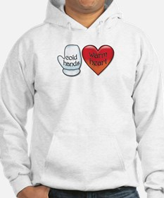 Funny Cold Hands Warm Heart Hoodie