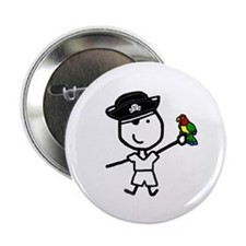 """Boy & Pirate 2.25"""" Button (10 pack)"""