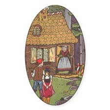 Vintage Hansel and Gretel Decal