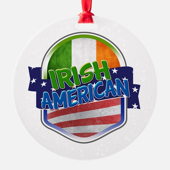 Irish American Ornament