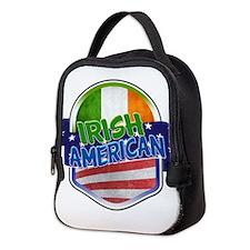Irish American Neoprene Lunch Bag