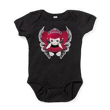 Goth Princess Angel Baby Bodysuit
