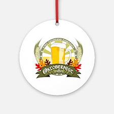Oktoberfest 2014 Ornament (Round)
