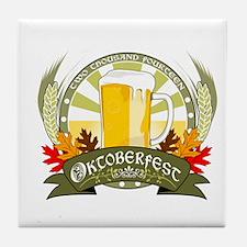 Oktoberfest 2014 Tile Coaster