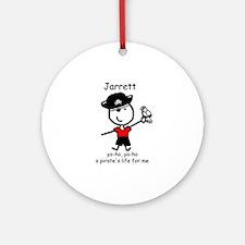 Pirate - Jarrett Ornament (Round)