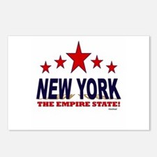 New York The Empire State Postcards (Package of 8)