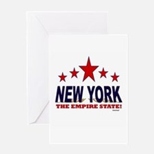 New York The Empire State Greeting Card
