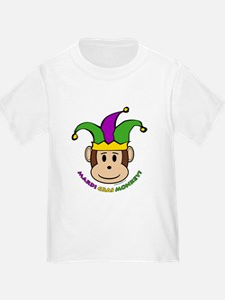 Mardi Gras Monkey T