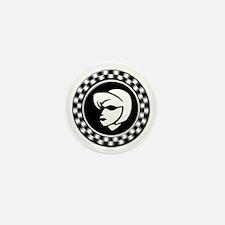 Rude Girl Emblem Mini Button