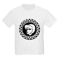 Rude Girl Emblem Kids T-Shirt