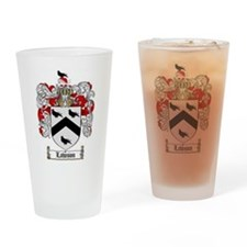 Lawson Coat of Arms Drinking Glass