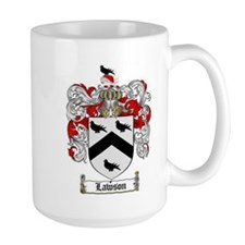 Lawson Coat of Arms Mugs