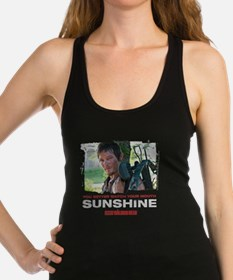 Daryl Dixon Watch Your Mouth Racerback Tank Top