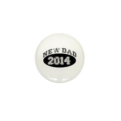 New Dad 2014 Mini Button