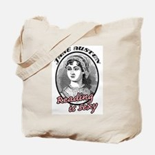 Jane Austen Reading is Sexy Tote Bag
