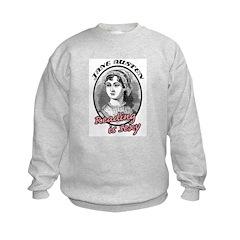 Jane Austen Reading is Sexy Sweatshirt