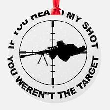 Sniper Ornament