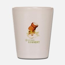 Champagne Couvert Shot Glass