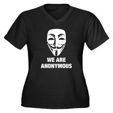 Anonymous 99% Occupy t-shirt Plus Size T-Shirt