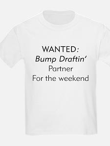 Wanted Bump draftin partner Kids T-Shirt